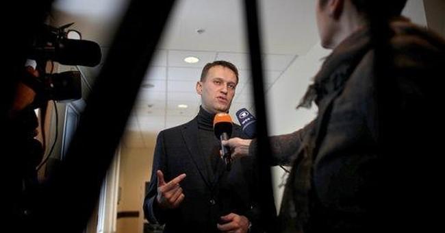 Navalny, Russia's protest hero, fights oil company
