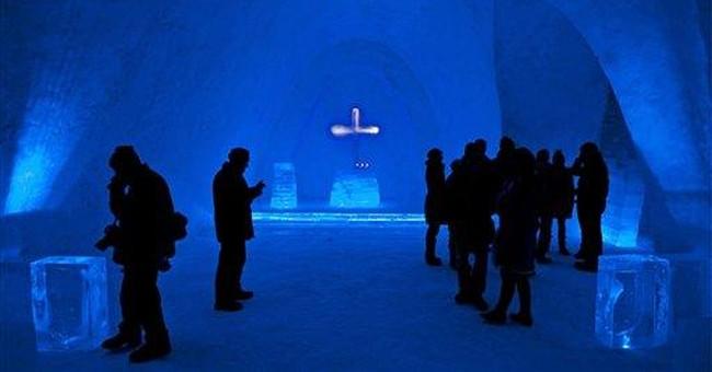 Snow church opens in Bavaria