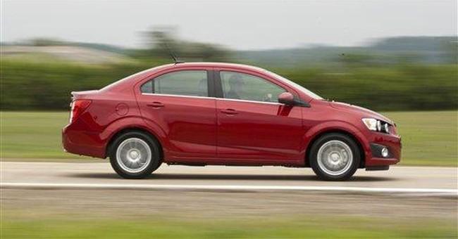 GM recalling Chevrolet Sonics to check brake pads