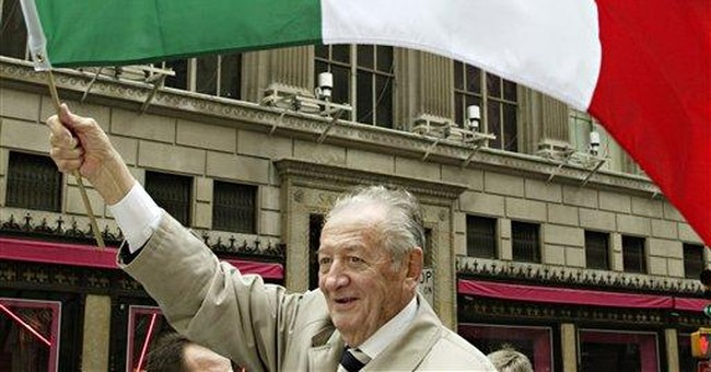 Italian who fought for votes for emigres dies