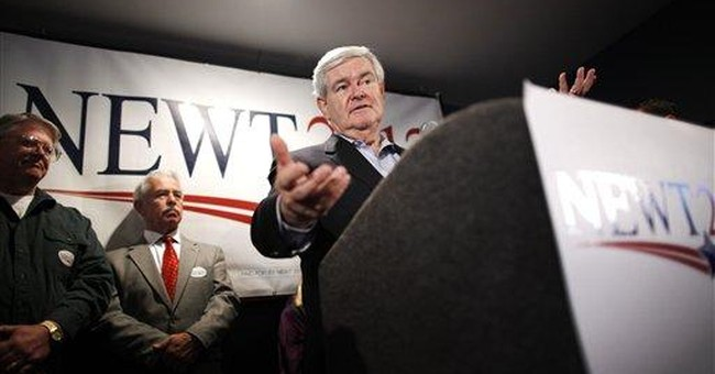"Gingrich: Justice Dept wants to ""steal elections"""