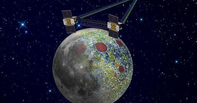 NASA marks 2012 with twin probes in moon orbit
