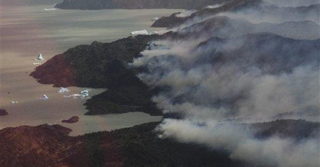 Chile says part of big forest fire contained