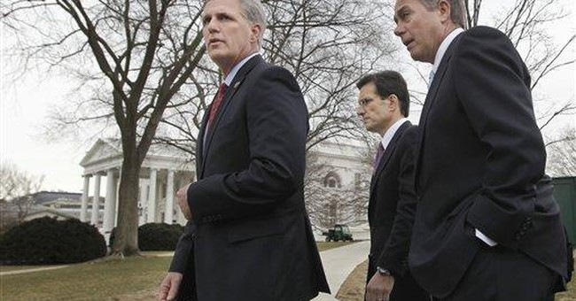 AP sources: House GOP looks for deeper budget cuts