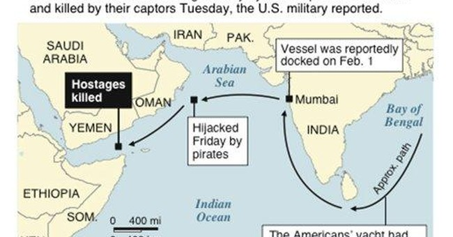 Friends: Americans killed by pirates were careful