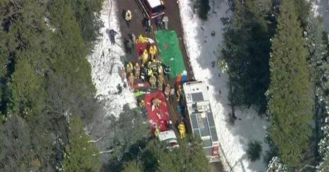 Many Calif. bus crash victims still hospitalized