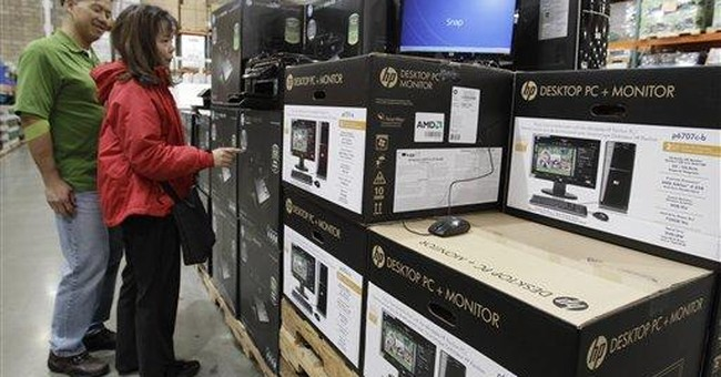 HP shares slide as powerhouse faces growth fears