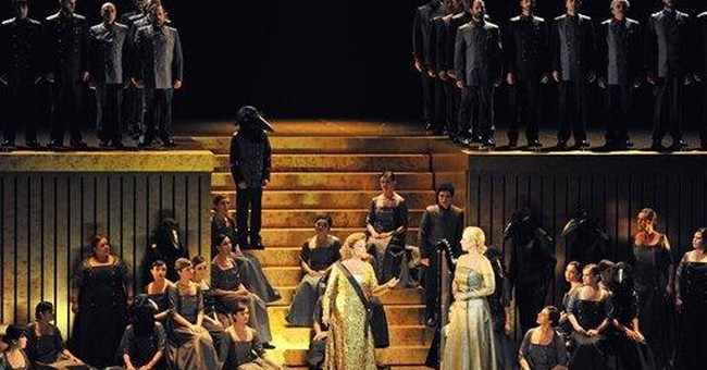 Spain's economic crisis hits famed opera house