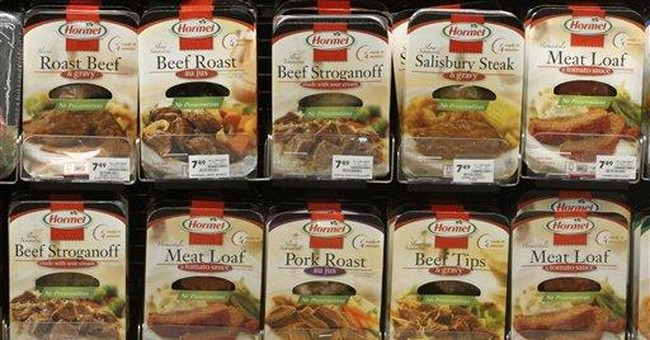 Higher prices help Hormel 1Q net rise 34 percent