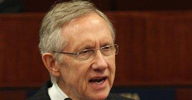 Reid proposes 30-day bill to avert shutdown
