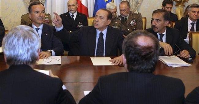 Italy suspends treaty with Libya