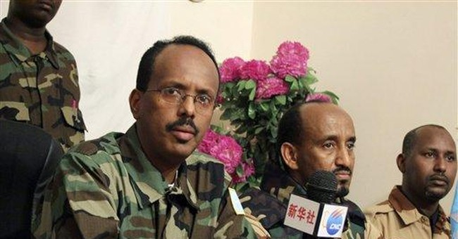 Somali militants display dead peacekeeper bodies