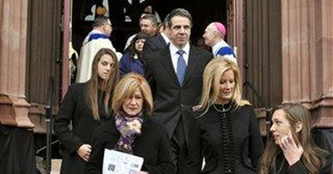 Catholic blogger: No Communion for NY Gov. Cuomo