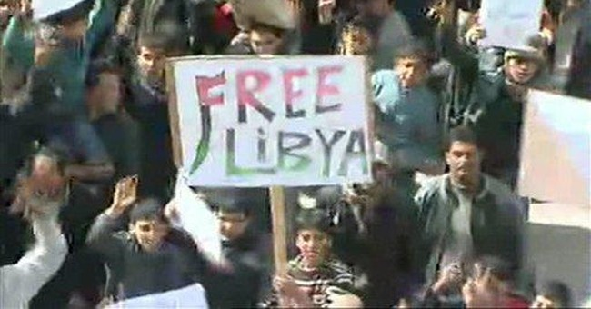 US considering sanctions on Libya; Obama to speak