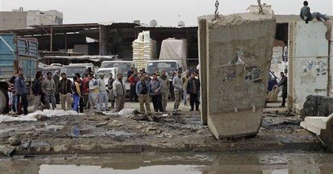 As war ebbs, Baghdad blast walls start coming down