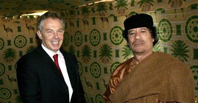 West may rue close ties to Libya's Gadhafi