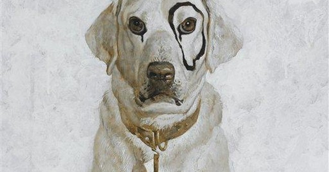 Jamie Wyeth dog portrait to be auctioned in NYC