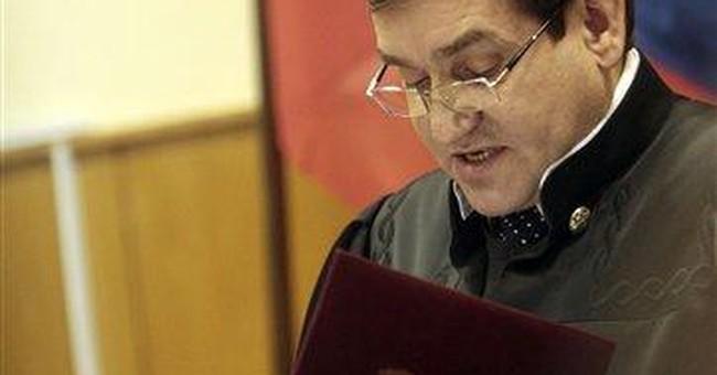 Khodorkovsky's judge says sentence not harsh