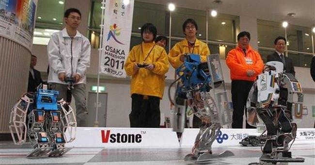 World's first robot marathon kicks off in Japan