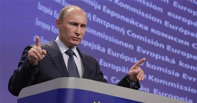 Putin, EU commission chief clash on energy policy