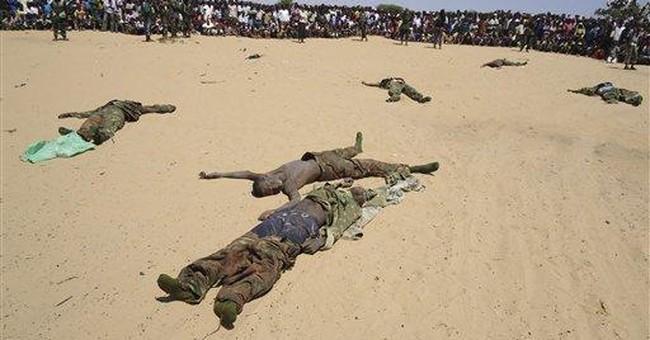 115 die in gov't offensive on Somali militants
