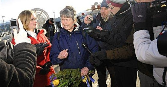 Alaska lawmaker returns home after refusing search