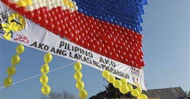 Philippines marks 25 years since 'People Power'
