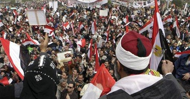 Rally keeps up reform pressure on Egypt's leaders