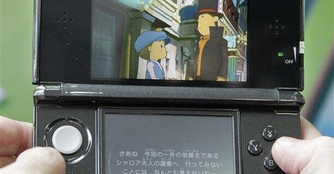 Nintendo 3-D handheld goes on sale in Japan