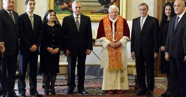 Pope accepts resignation of Maronite church head