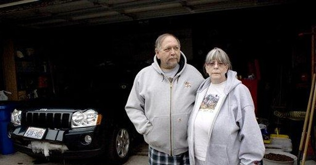 Wash. couple rescued after 4 days trapped in snow