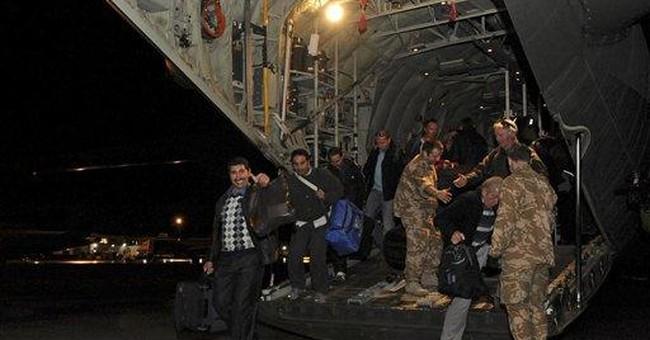 EU says most EU citizens out of Libya