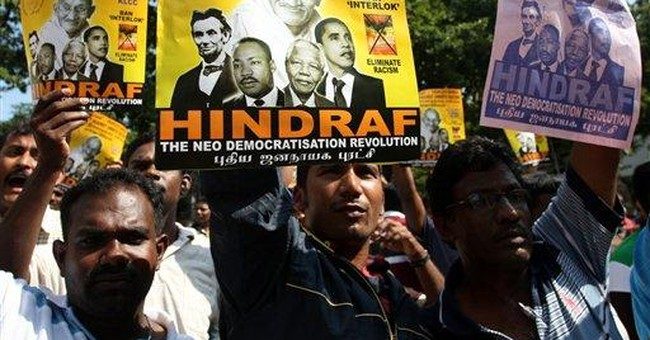 Malaysia police detain dozens of Indian protesters