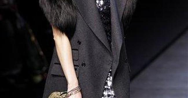 Milan fashion both retro and futuristic