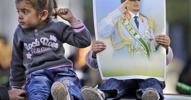 Libyan leader cut a flamboyant, eccentric figure