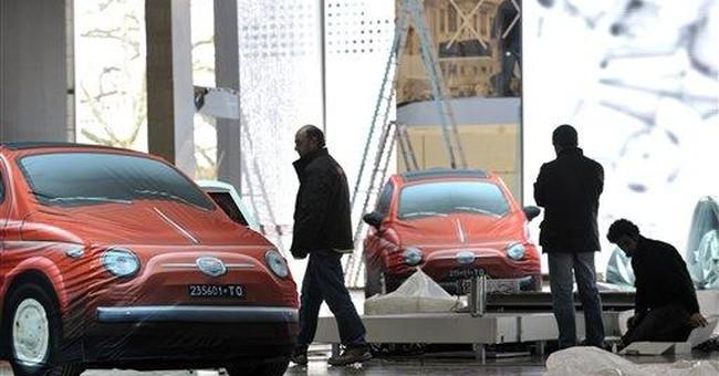Rising fuel price casts shadow on Geneva auto show