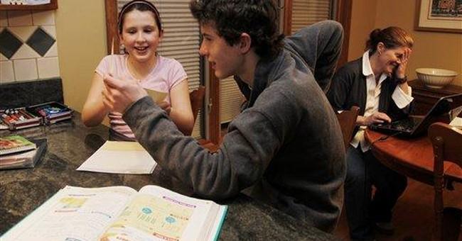 Parents on hard high school homework: Carpe diem!