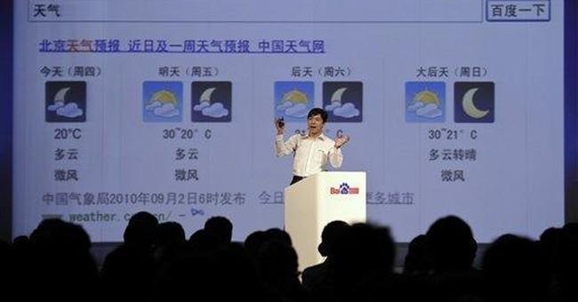 US says China's Baidu, Taobao markets for piracy