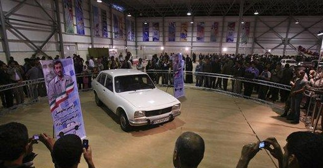Report: Iran president's car sold for $2.5 million