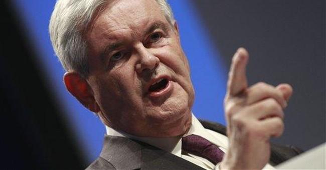 Gingrich announces website to explore GOP bid