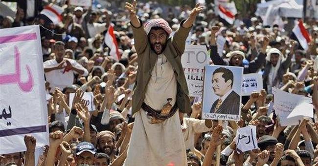 Yemeni president says US and Israel behind unrest