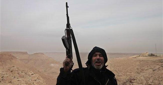 Libyan desert town shakes off Gadhafi rule