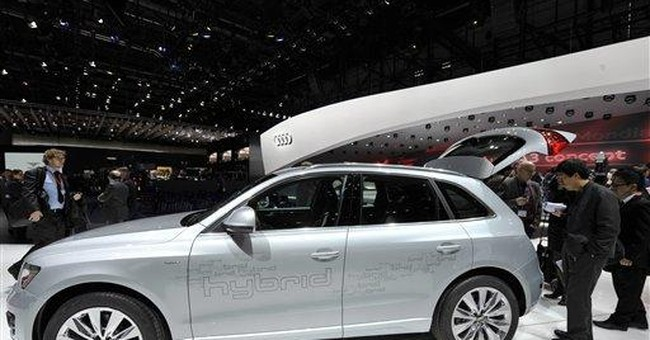 Carmakers bet on green tech to offset costly fuel