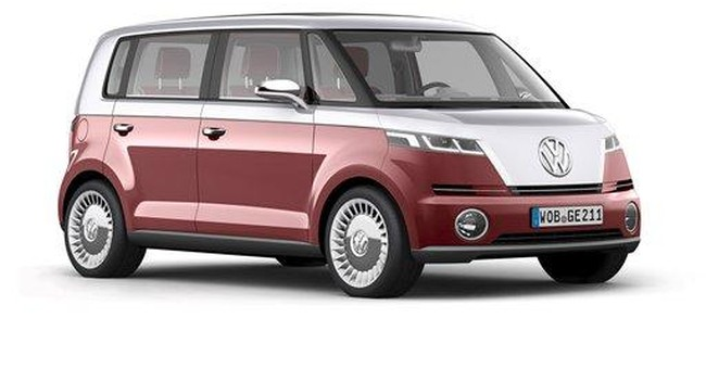 VW unveils new model of microbus loved by hippies