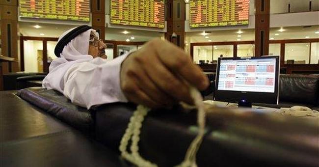 Drops in Saudi Arabia fuel Mideast markets slide