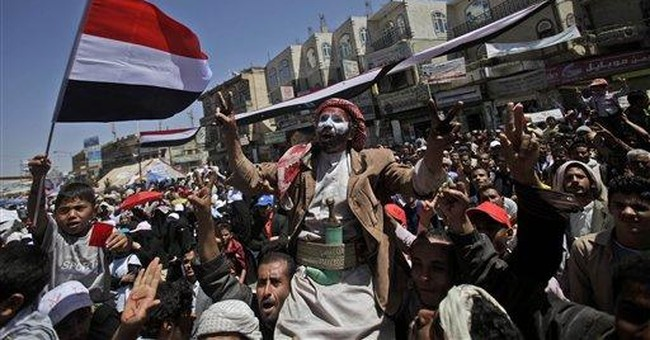 2 killed in clashes during protests in south Yemen
