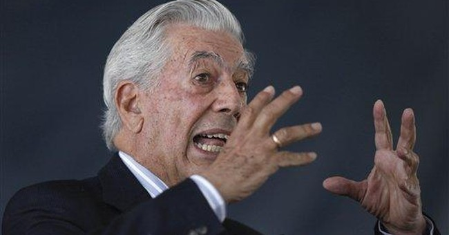 Words are worth the fight for author Vargas Llosa