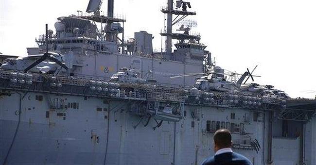 2 US warships move closer to Libya via Suez Canal
