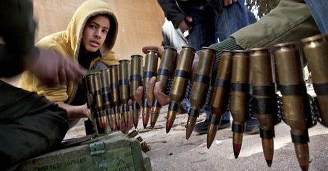 Libyan volunteers eager to fight Gadhafi