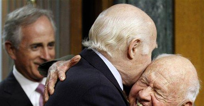 Actor Mickey Rooney tells Congress about abuse